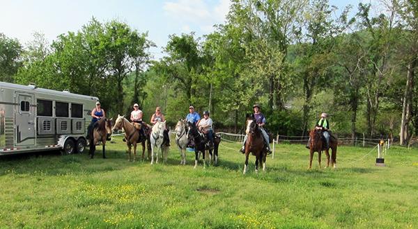 Graves Mountain Virginia horse riding