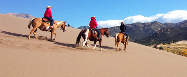 Giant Sand Dunes National Park Horseback