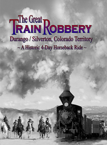 great train robbery horseback tour