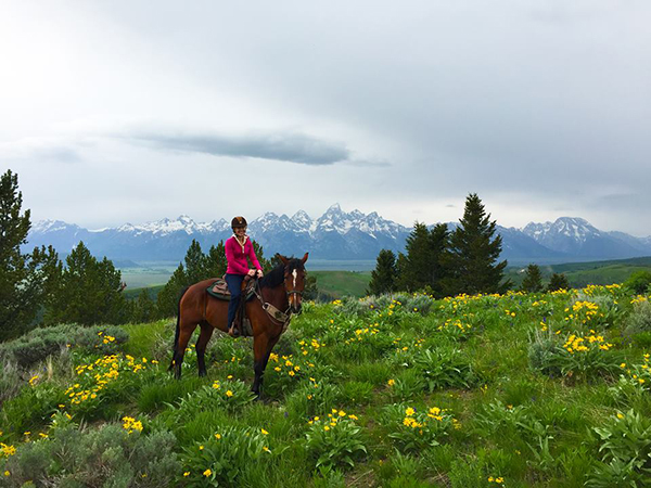 Gros Ventre River Ranch horseback