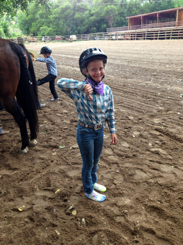 gymkhana children colorado ranch sylvan dale
