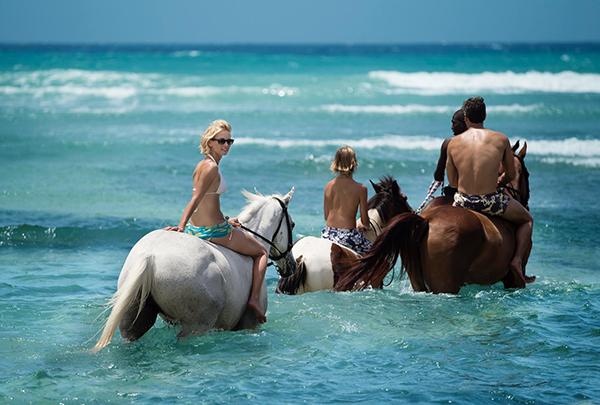Half Moon Bay horseback Jamaica