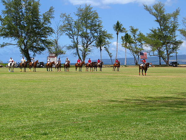 hawaii polo club match in oahu hawaii