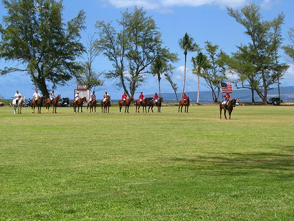 hawaii polo club match in oahu hawaii
