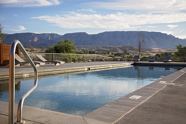 Hideout Ranch dude ranch pool
