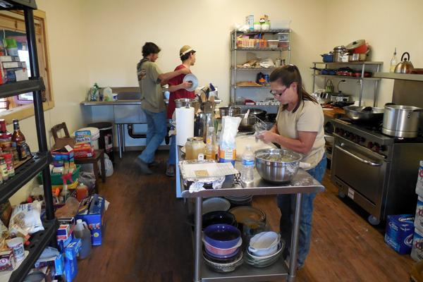 hideout ranch kitchen