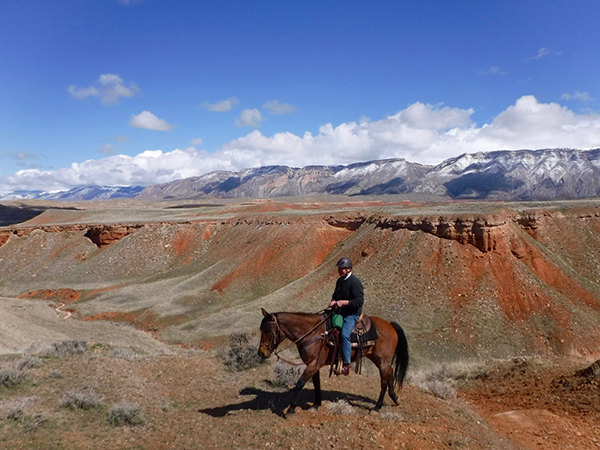 The Hideout Lodge Wyoming riding