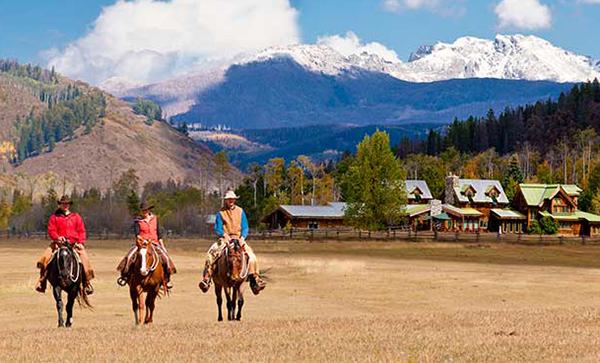 Home Ranch riding Colorado
