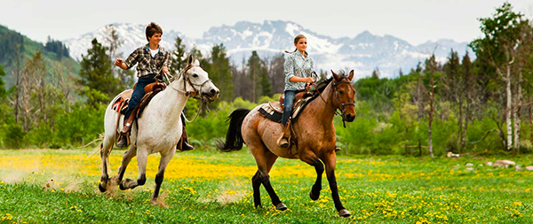home ranch horseback riding teens