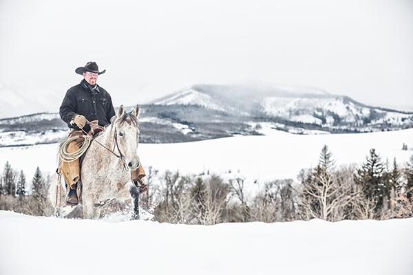 Home Ranch horseback riding winter colorado