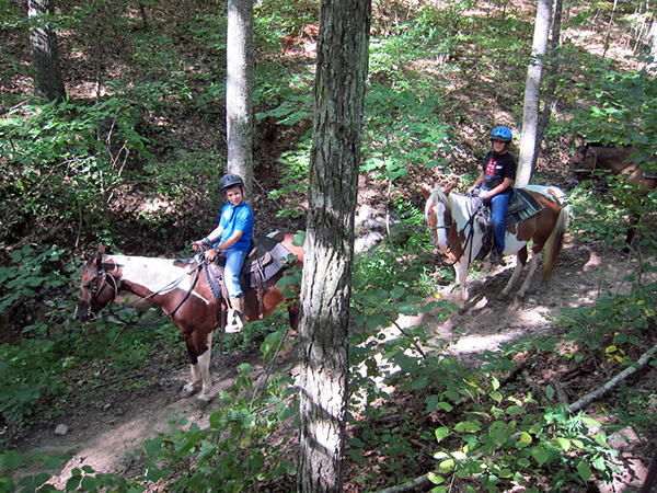 trail riding wv 4 h youth camp