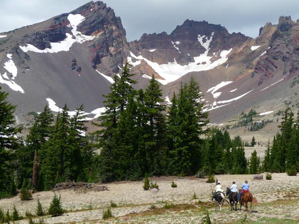 oregon horse ride broken top