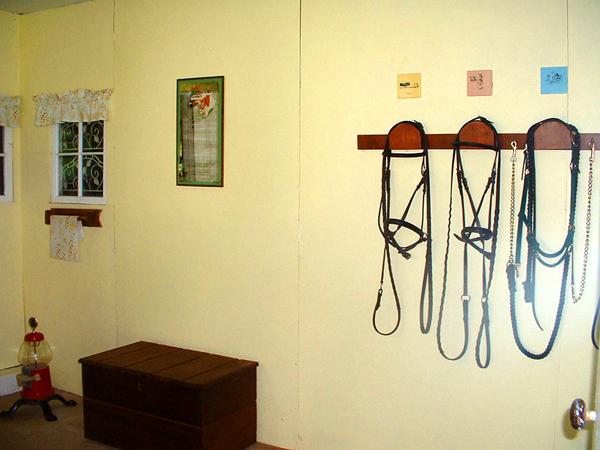 horse tack room