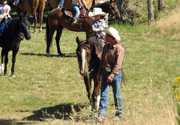 horseback riding in Idaho