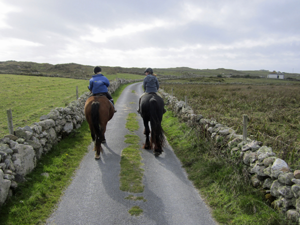 Horseback Riding Omey Island Ireland