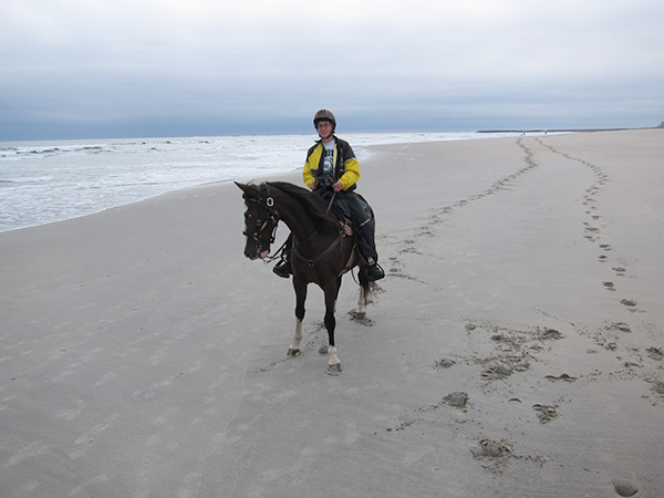 horseback riding on hampton beach