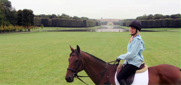 horseback riding france versailles