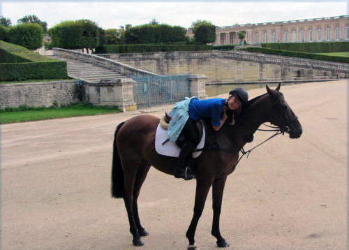 horseback riding versailles