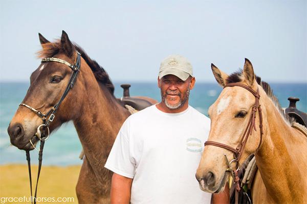horseback st lucia travel