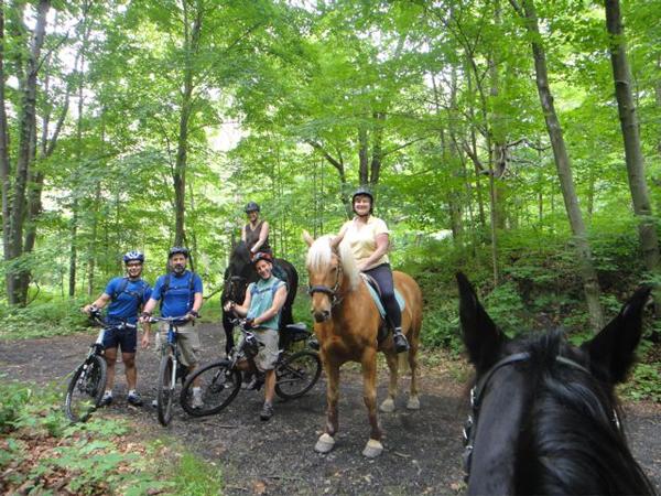 horses and bikes nj trails