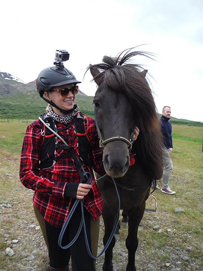 icelandic horse go pro