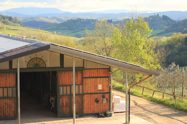 Il Paretaio View From Stables Tuscany
