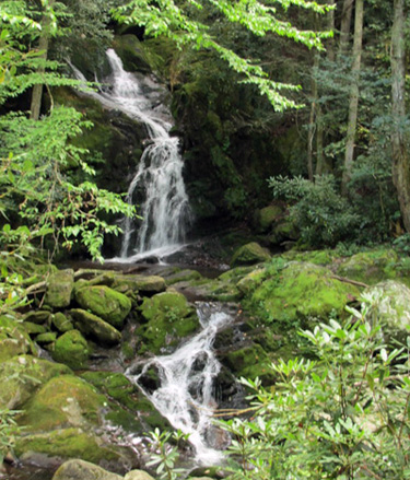 cherokee national forest waterfalls