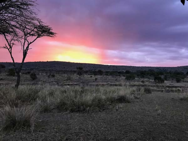 An African Sunset Kenya horseback safari