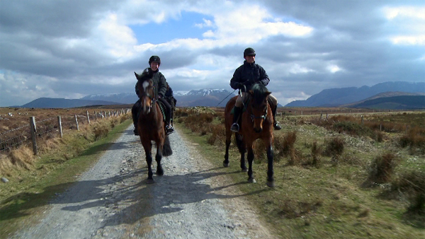 Ireland riding holidays Clew Bay