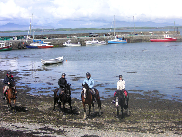 Ireland equestrian vacations Clew Bay Trail Ride