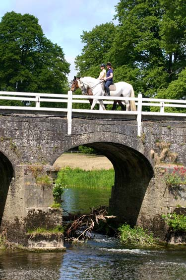 Ireland Mount Juliet horse riding