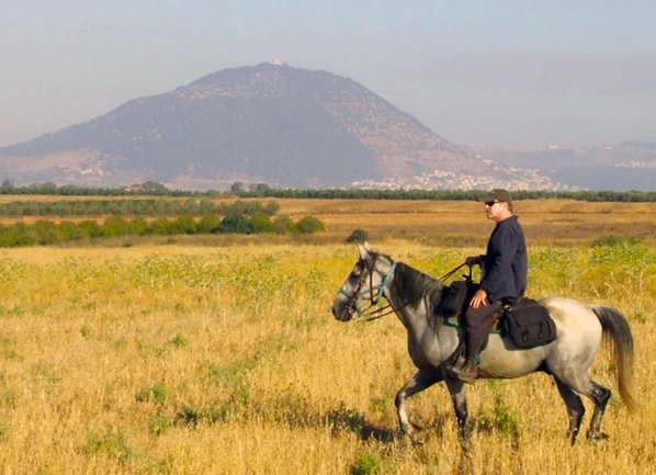 israel new years horseback