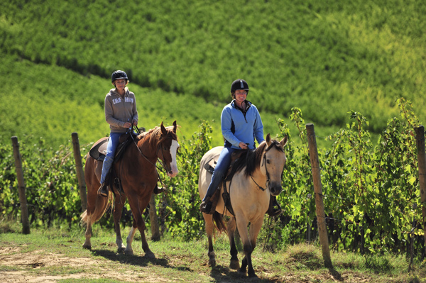 tuscany horse riding holidays