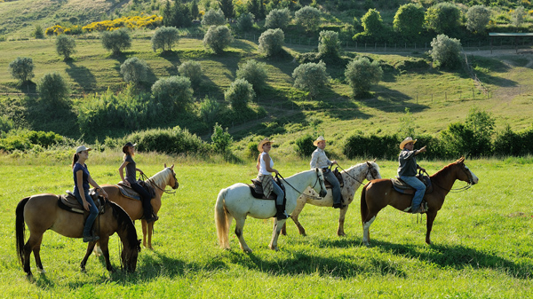 tuscany horse riding vacations