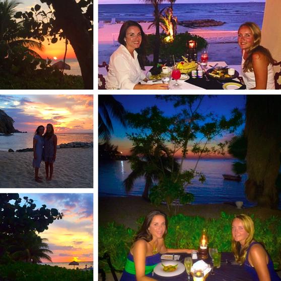 Jamaica half moon sunsets