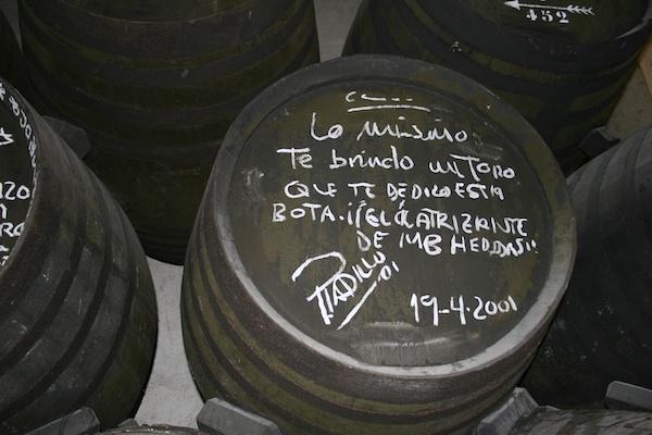 Jerez sherry bodega