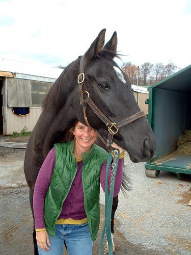 julie ober horse riding