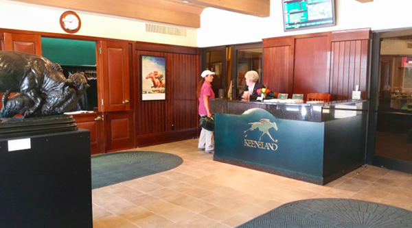 keeneland entrance