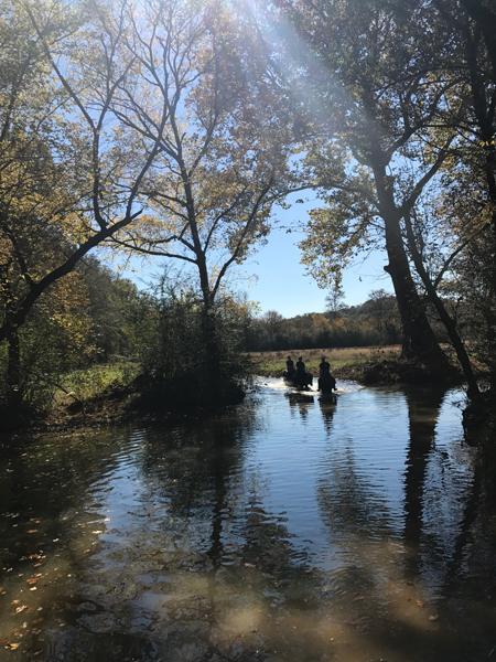 horseback riding through kelly creek shel clair farms