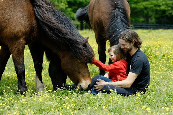 Gudmar Petursson and his Icelandic Horses