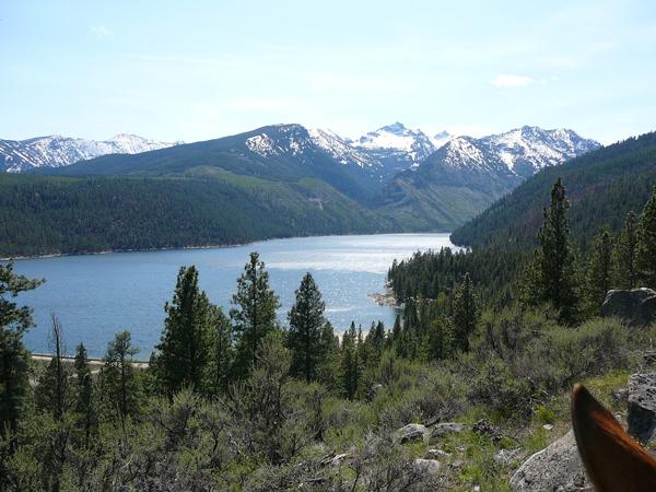 lake como montana horseback