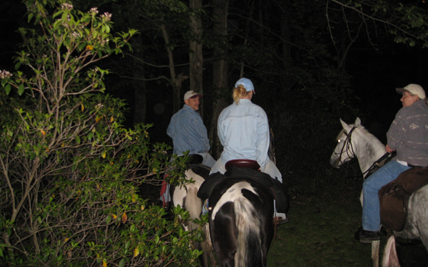 Laurel Run Moonlight Horseback Ride