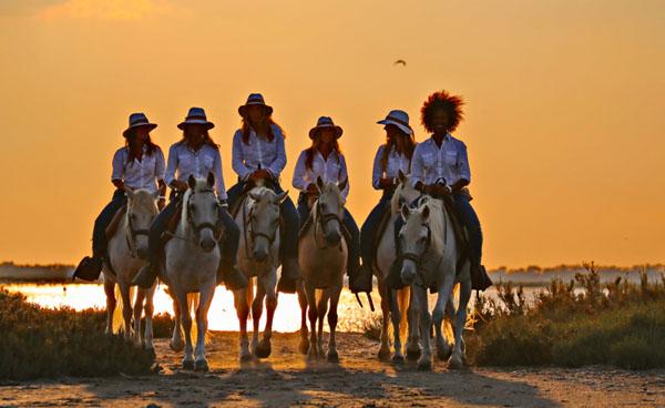 Les Arnelles Beach Ride Camargue