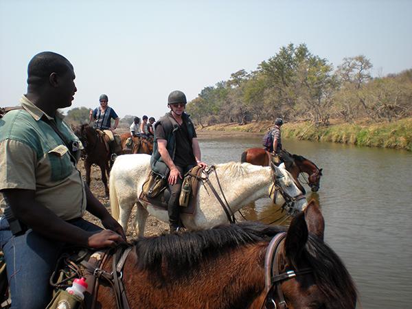 Limpopo horse safari botswana