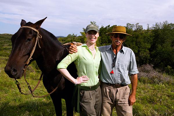 Local rancher Uruguay Darley