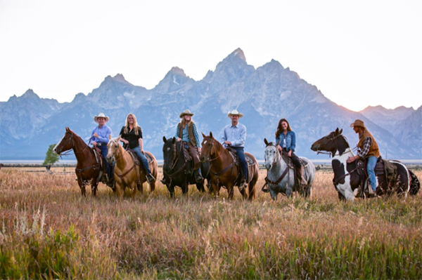 Grand Tetons horseback riding