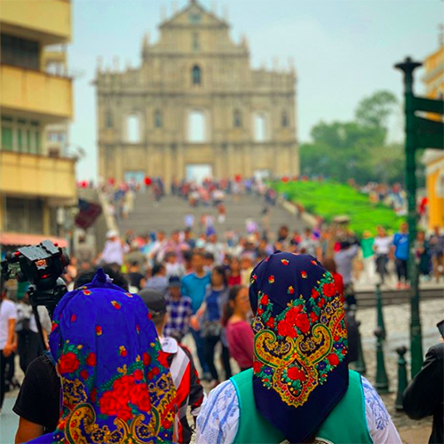 Portuguese influenced clothing in Macao