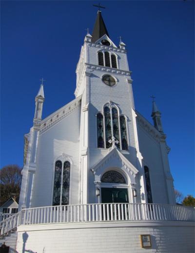 Mackinac Church Michigan