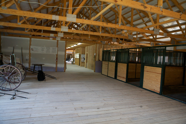 Mackinac island stables