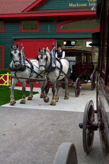 Mackinac Island Grand Hotel Stables